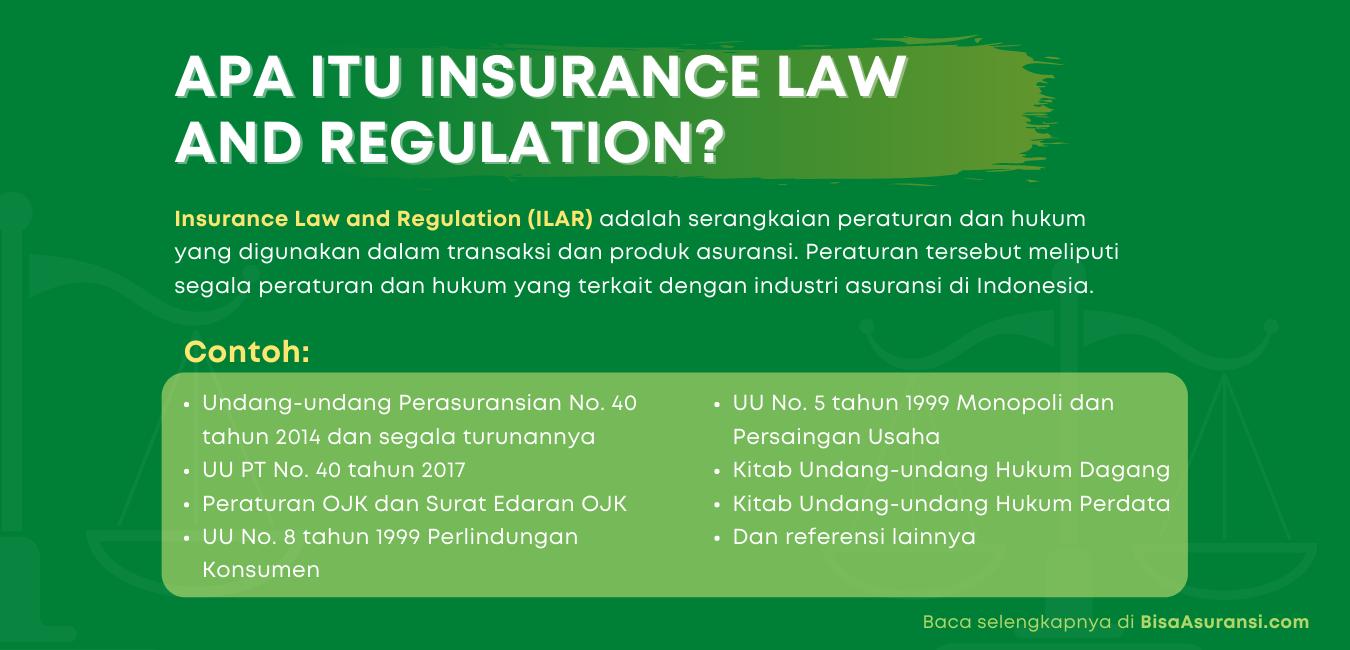 Pengertian insurance law and regulation