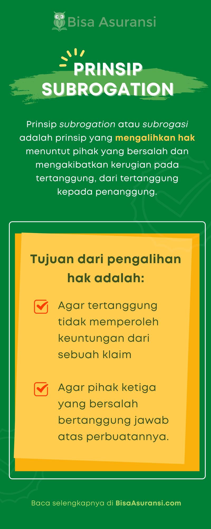 Prinsip subrogation