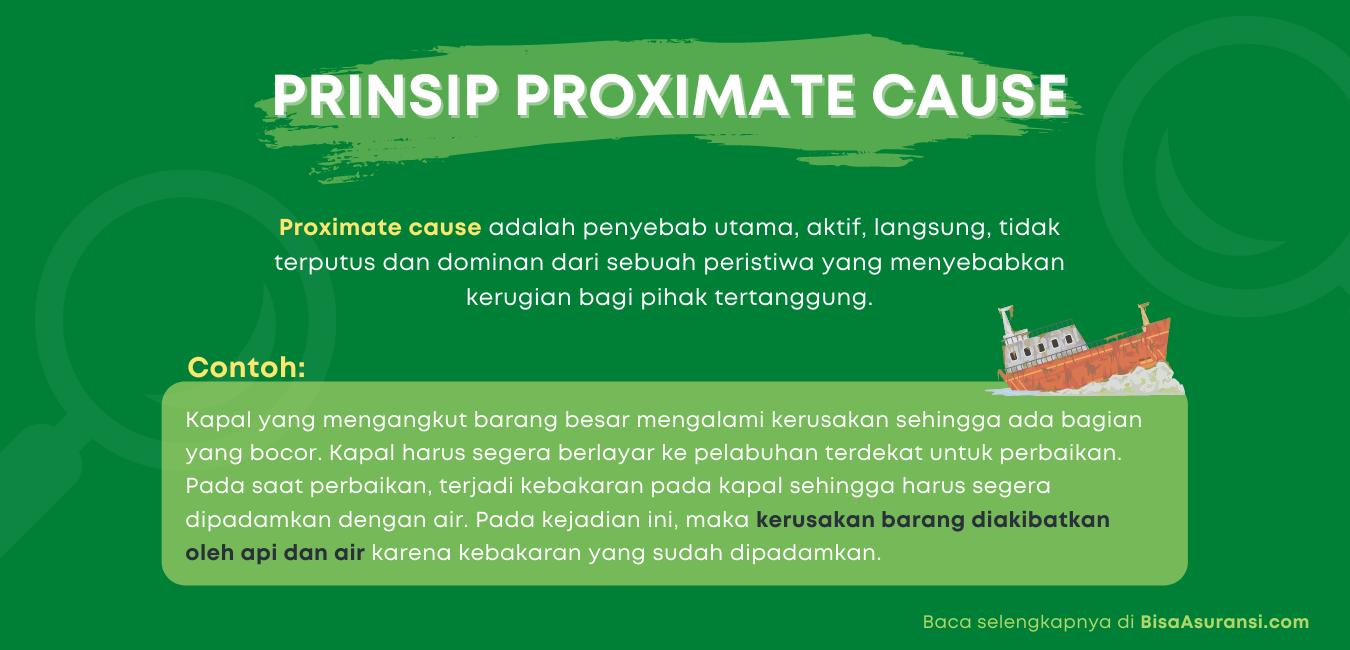 Prinsip proximate cause